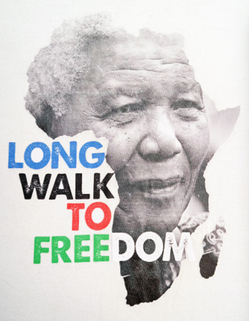 Long Walk to Freedom Colour T-Shirt